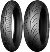 Michelin Pilot Road 4 GT 170/60 ZR17 72W TL Rear