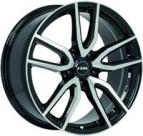 Rial Torino 8x18 5x112 ET 45 Dia 70,1 (diamond black front polished)